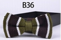 New Design Fashion Men′s Knitted Bowtie (B36) pictures & photos