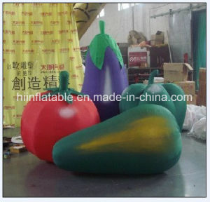 Lovely Cartoon Design Inflatable Vegetable, Inflatable Tomato for Advertising