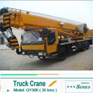 2016 New 30ton Truck Crane Qly30 with Best Price