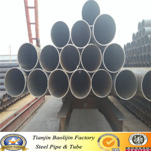 5inch Ms Black Low Carbon Steel Pipe pictures & photos