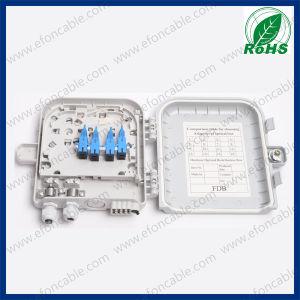 8 Port Telecom Network Optical Fiber ODF Box pictures & photos