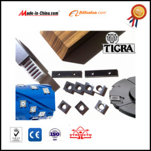 Wood Planer Parts of Wood Machine, Helical Cutter Blade pictures & photos