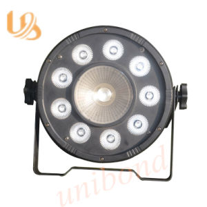 RGBW LED 9*3W PAR Light with 8 Channels pictures & photos