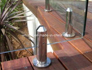 Stainless Steel CNC Machining Staircase Handrail Hardware (Spigot) pictures & photos