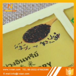Self Adhesive Clear Food Rice Package Label pictures & photos