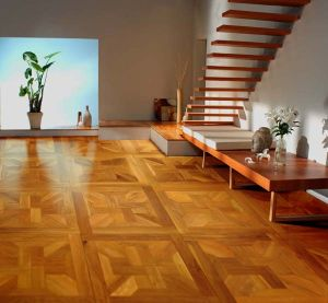 Vanished Hardwood Parquet / Oak Engineered Mosaic Flooring pictures & photos