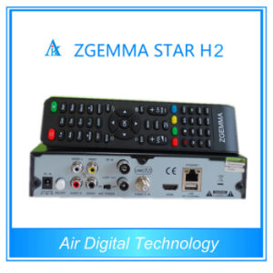 New Arrival Zgemma Star H2 DVB-S2+T2/C Hybrid Set Top Box pictures & photos