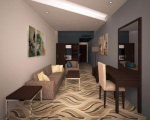 Hotel Suiteroom Furniture/Luxury Kingsize Bedroom Furniture/Standard Hotel Kingsize Bedroom Suite/Kingsize Hospitality Guest Room Furniture (NCHB-01695133103) pictures & photos