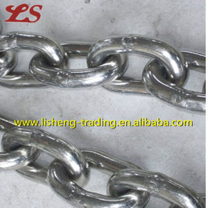 Galvanized Steel Short Link Chain pictures & photos