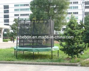 14ft (427cm) Superb Round Trampoline with Safety Net (SP144296N1)
