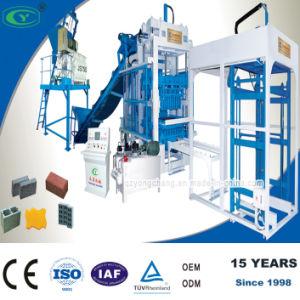 Fully Automatic Building Concrete Block Machinery Production Line (QT8-15)