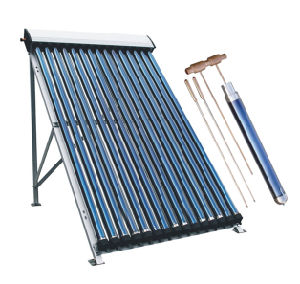 Pressurized Solar Water Heater Collector (heat pipe solar panel) pictures & photos