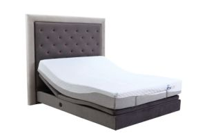 Elegent Design New Modle Adjustable Bed Electric Bed with Headboard and Surrounding pictures & photos