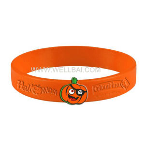 Silicone Rubber Wristband Bracelet for Promotion Gift