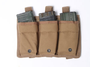 Airsoft Molle Triple Magazine Open Top Pouch