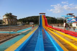 Three Colors Rainbow Water Slide (DL: WS-1212) pictures & photos