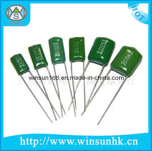 High Quality / RoHS Type Cl11 Metallized Polyester Film Capacitor