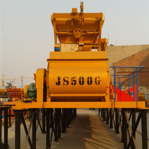 Twin Shaft Compulsory (JS500II) Concrete Mixer pictures & photos