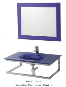 Sanitary Ware Glass Vanity with Silver Mirror pictures & photos