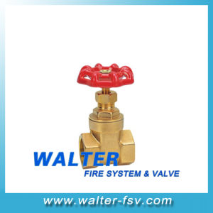 Brass Thearded Gate Valve pictures & photos