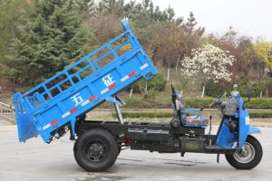 Waw Diesel Dump Right Hand Drive Tricycle From China for Sale (WC3B3523102) pictures & photos