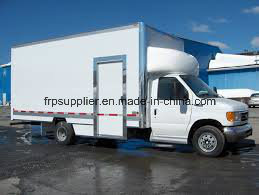 CKD FRP Refrigerated Truck Body/Refrigerator Car Truck /Cold Van/Insulated Van pictures & photos