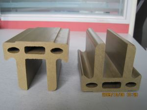High Tensile Strength Hollow WPC Beam (outdoor WPC) pictures & photos