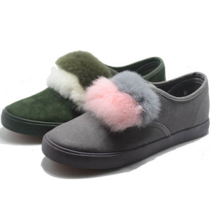 Fashion Canvas Casual Women Shoes pictures & photos
