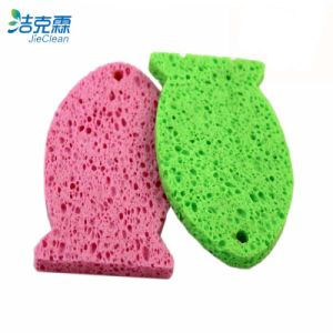 Cellulose Sponge of Fish Shape Cleaning Tool pictures & photos