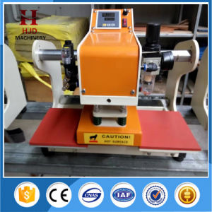 T Shirt Labels Pneumatic Heat Press Machine with Hjd-J404 pictures & photos