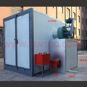 High Quality Electrostatic Powder Coating Curing Oven pictures & photos