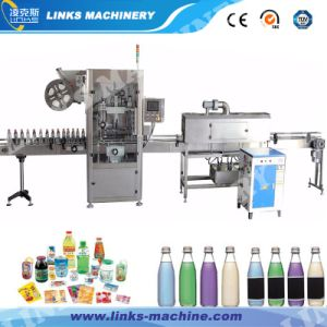 High Quality Automatic Pet Label Shrinking Machine pictures & photos