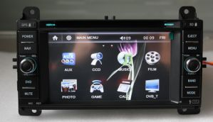 2 DIN 6.2 Inch 800*480 Digital Touch Screen Car Radio DVD GPS Navigation for Jeep Grand Cherokee 2012 (TS6635)