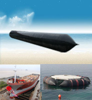Marine Ship Launching Airbags Used for Sunken Ship Salvage Refloatation, Heavy Lifting and Shift pictures & photos