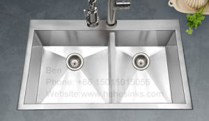 Handmade Sink, Kitchen Sink, Stainless Steel Sink, Sink, Kitchen Basin, Stainless Steel Tank pictures & photos
