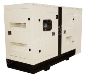 100kVA Super Low Noise Cummins Diesel Genset with ISO Certification pictures & photos