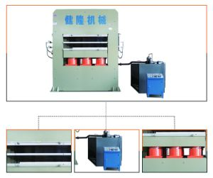 Short Cycle Lamination Hot Press Line pictures & photos