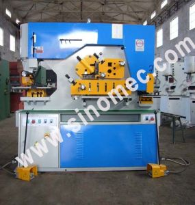 Flat Steel Bending Machine Q35y-12 pictures & photos
