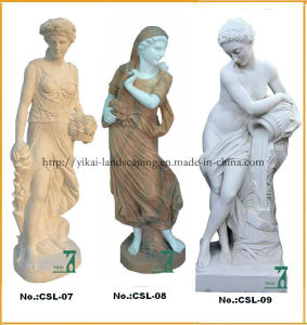 Granite, Marble Carving Sculpture. Character Figure Statues (YKCSL-03)