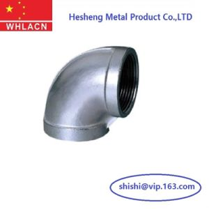 Investment Casting Sanitary Stainless Steel Elbow Pipe Fitting pictures & photos