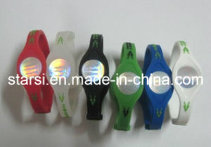 Power Siliocne Bracelet Wristband (STP002)