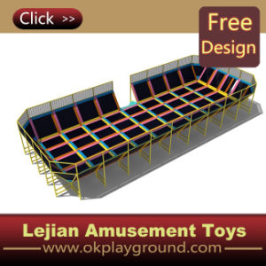 Popular High Quality Beds Trampoline Indoor Park with CE pictures & photos