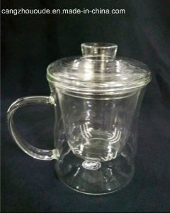 Wholesale Glass Tea Glassware Cups with Handle pictures & photos