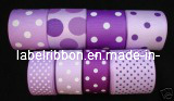 Printed Woven Edge Polyestser Ribbon (SW500P) pictures & photos