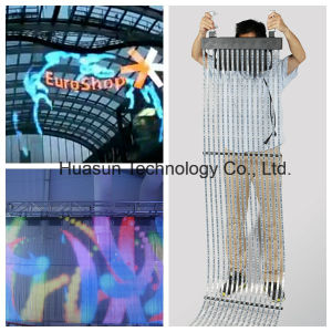 Light Weight Flexbile Video Strip Curtain for Creative Trade Show, Exhibition, Advertising, Shopping Mall...