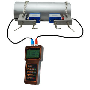 Handheld Bracket Mounting Ultrasonic Flowmeter pictures & photos