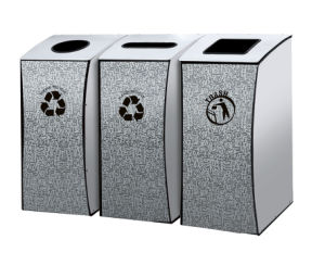 New Style Dustbin for Garden and Street (HW-173) pictures & photos