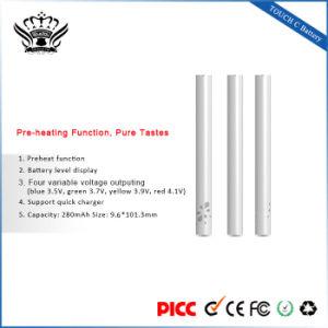 Bud 280mAh Pre-Heating Voltage-Adjustment Wholesale Vape Pen pictures & photos