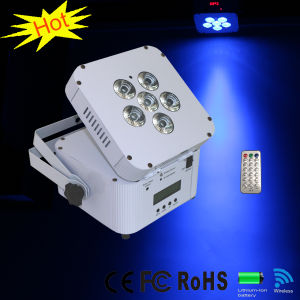 6PCS Wireless DMX LED Stage Lighting
