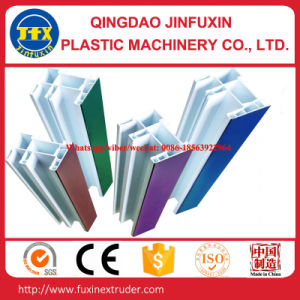 WPC Plastic Door Profile Extrusion Line pictures & photos